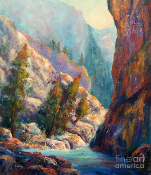 Into The Canyon Art Print