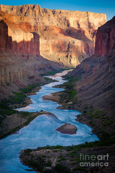 Us Southwest Photograph - Into The Canyon by Inge Johnsson