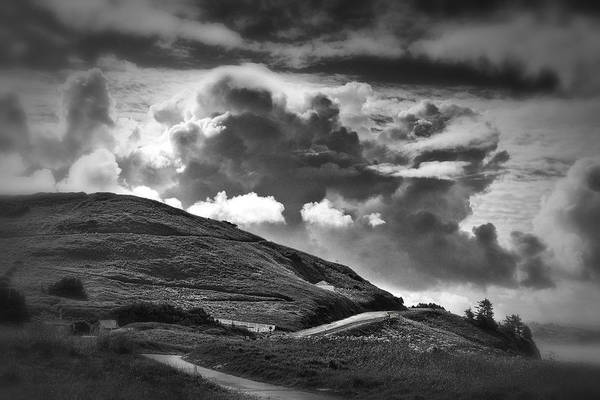 Black Cloud Photograph - Into The Clouds by Andrew Soundarajan