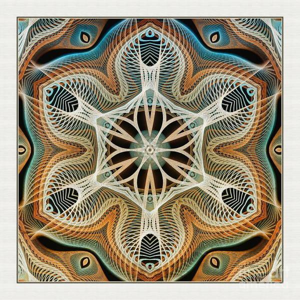 Digital Art - Into The Cortex by Deborah Benoit