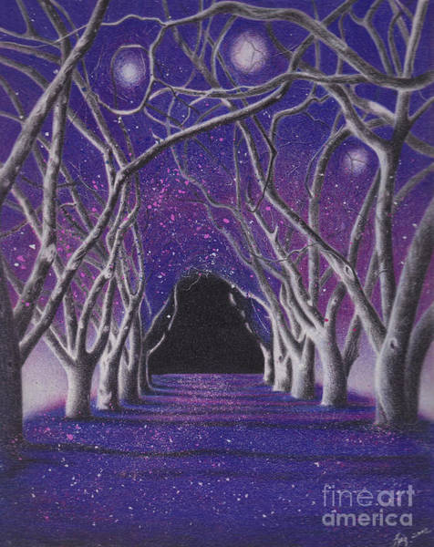 Painting - Into The Dark by Elizabeth Dobbs