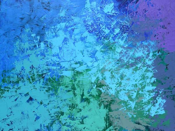 Into The Deep Blue Sea Art Print