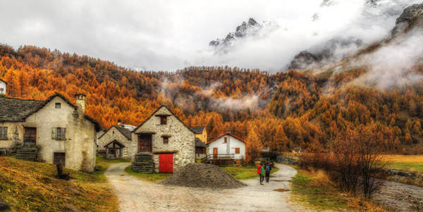 Photograph - Into The Fall Colors by Roberto Pagani