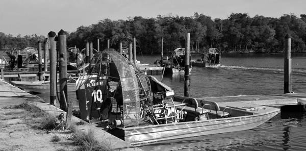 Airboat Photograph - Into The Glades by David Lee Thompson