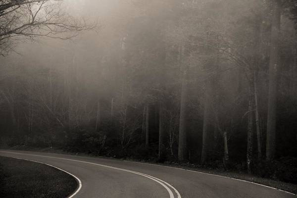 The Great Smoky Mountains Wall Art - Photograph - Into The Great Unknown by Dan Sproul
