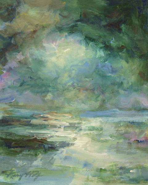 Painting - Into The Light by Mary Wolf