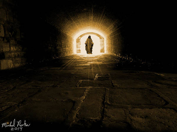Wall Art - Digital Art - Into The Light by Michael Rucker