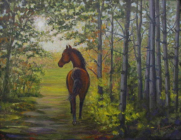Painting - Into The Light by Sherri Anderson