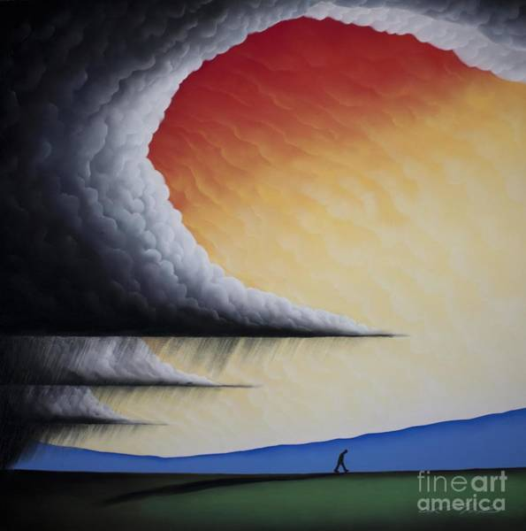 Into The Light V Art Print