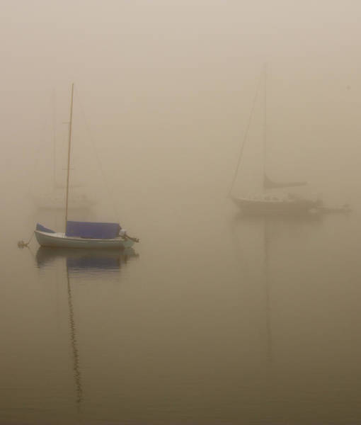 Kennebunkport Maine Photograph - Into The Mist Kennebunkport by Bridget Calip