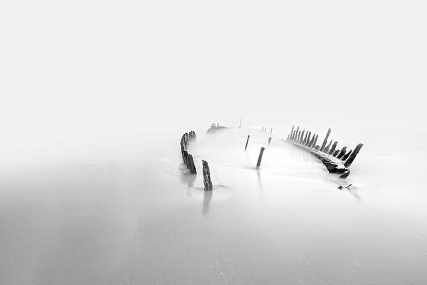 Forgotten Photograph - Into The Mist by Mel Brackstone