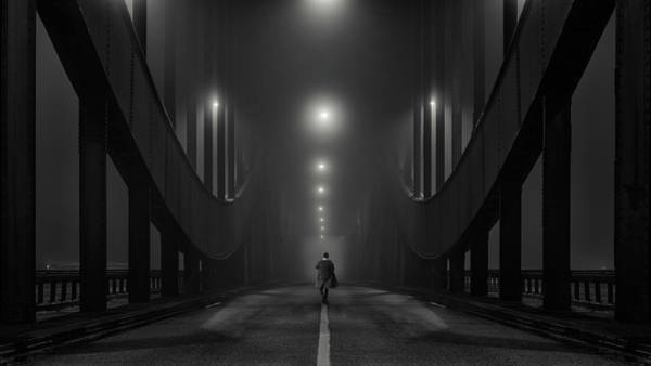 Perspective Wall Art - Photograph - Into The Night by Alexander Sch?nberg