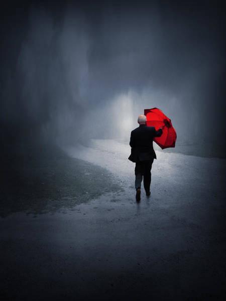 Weathered Digital Art - Into The Storm by Jennifer Woodward