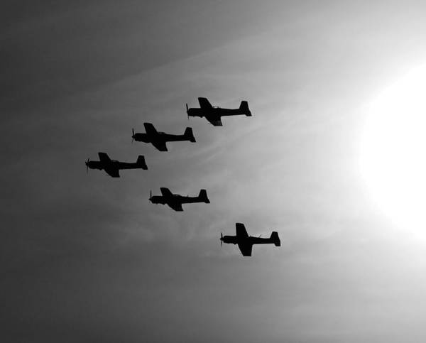 Army Air Corps Photograph - Into The Sun by Joe Schofield