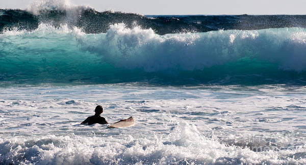 Photograph - Into The Surf by Rick Piper Photography