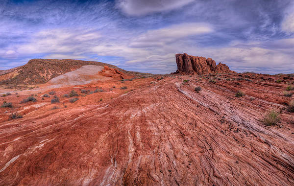 Valley Of Fire State Park Photograph - Into The Valley by Stephen Campbell