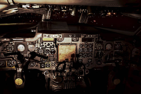 Photograph - Into The Vintage Cockpit by Jason Politte