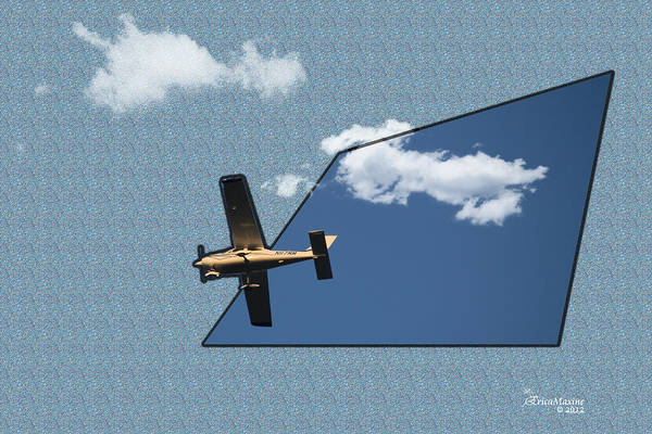 Photograph - Into The Wild Blue Yonder by Ericamaxine Price