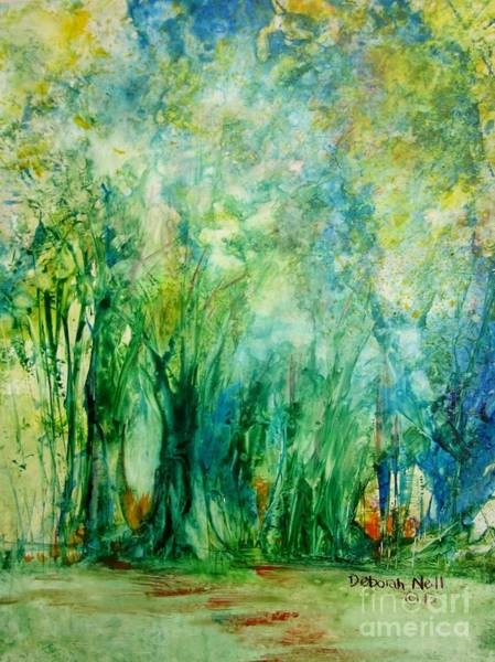 Painting - Into The Woods by Deborah Nell