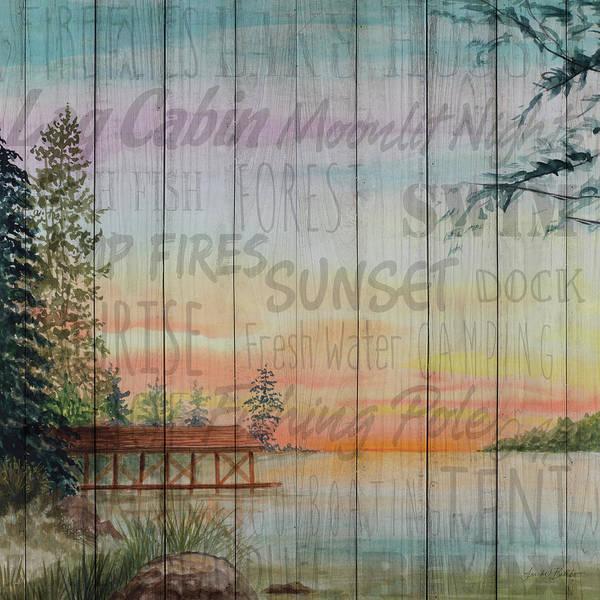 Into The Woods Wall Art - Digital Art - Into The Woods Words II by Linda Baliko