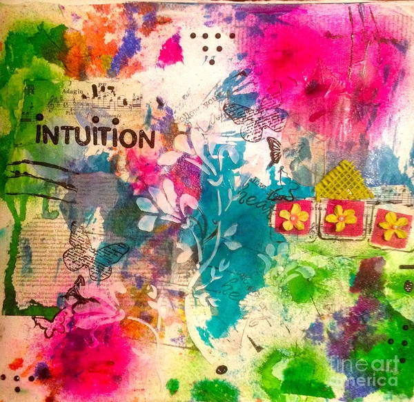 Mixed Media - Intuition  by Corina  Stupu Thomas
