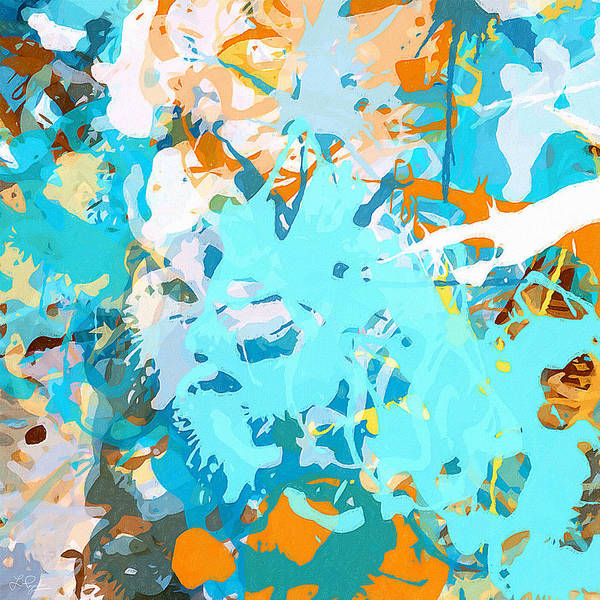 Wall Art - Painting - Intuitive Rise by Lourry Legarde