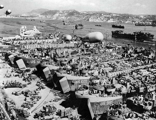 Photograph - Invasion Of Southern France by Underwood Archives