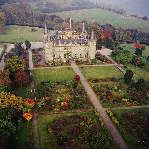 Wall Art - Photograph - Inverary Castle by Skyscan/science Photo Library