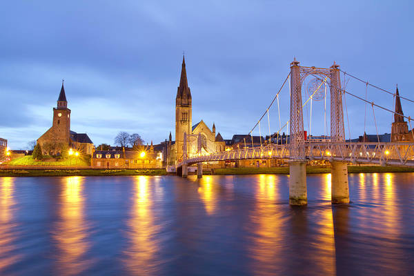 Wall Art - Photograph - Inverness At Twilight by Mattstansfield