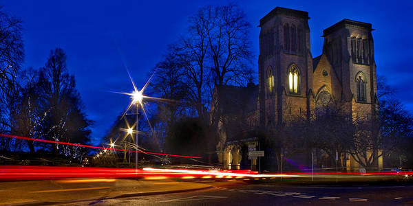 Photograph - Inverness Cathedral At Night by Joe Macrae