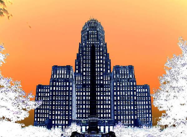 Photograph - Inverted Buffalo City Hall by Jim Lepard