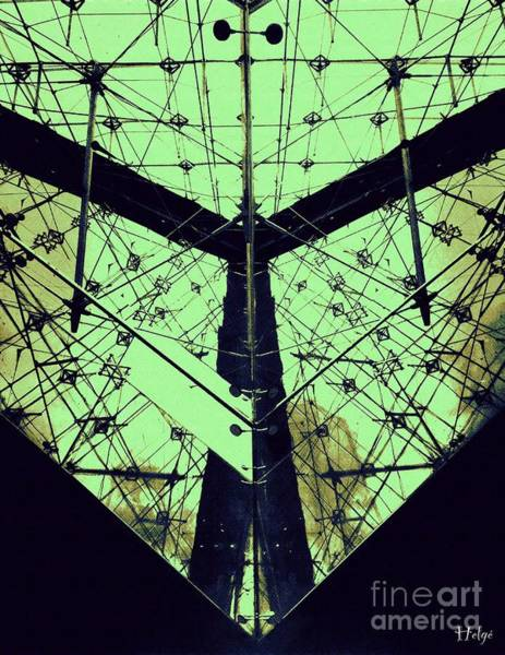 Photograph - Inverted Pyramid Du Louvre by Helge