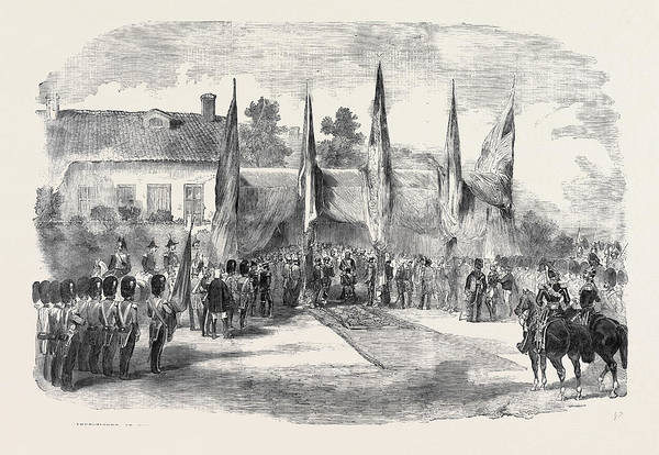 Ukraine Drawing - Investiture Of The Order Of The Bath, By Lord Stratford De by English School