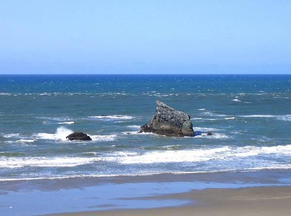Whitecaps Photograph - Invigorating Blue Sea by Will Borden