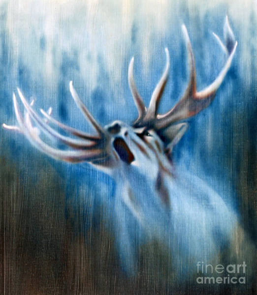 Painting - Invitation To The Quest by Roger Williamson