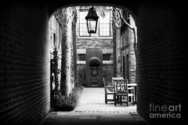 Photograph - Inviting Alley by John Rizzuto