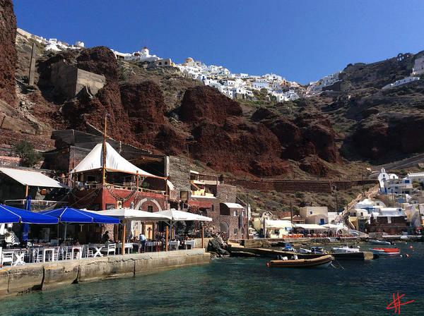 Photograph - Ioa Port Greece Santorini Island  by Colette V Hera  Guggenheim