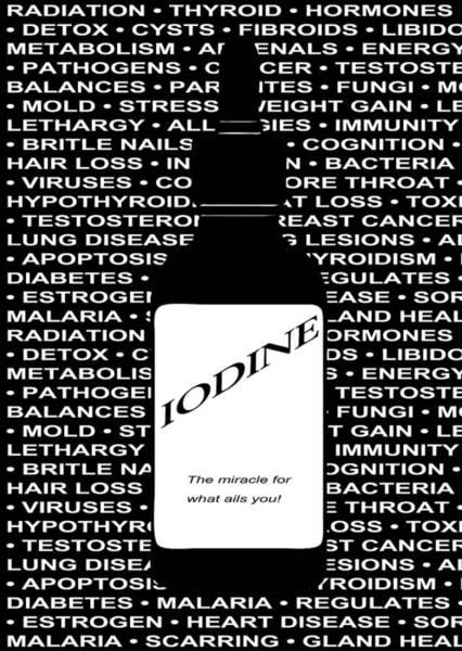 Wall Art - Digital Art - Iodine The Miracle Nutrient by Daniel Hagerman