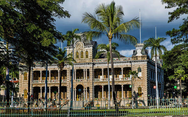 Photograph - Iolani Palace by Jon Burch Photography