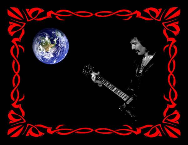 Photograph - Iommi World by Ben Upham