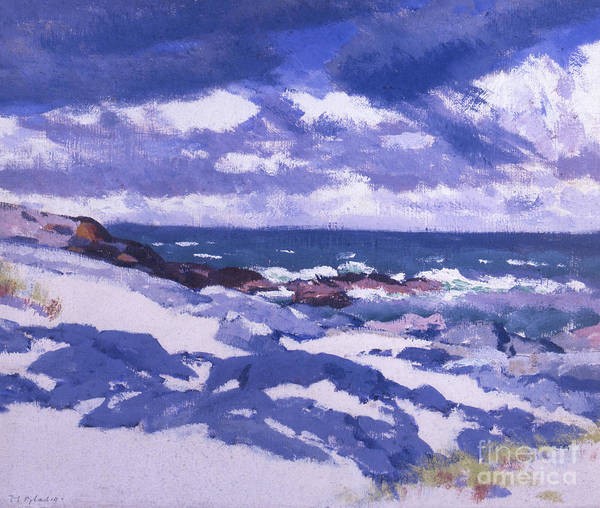 Francis Painting - Iona Above Mermaids by Francis Campbell Boileau Cadell