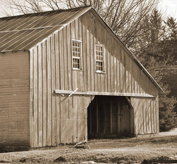 Digital Art - Iowa Hay Barn by Kirt Tisdale