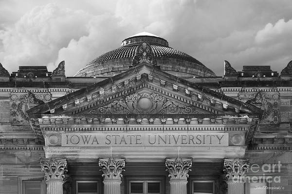 Iowa State University Beardshear Hall Art Print