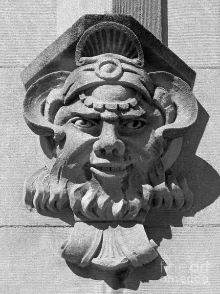 Photograph - Iowa State University Limestone Detail by University Icons
