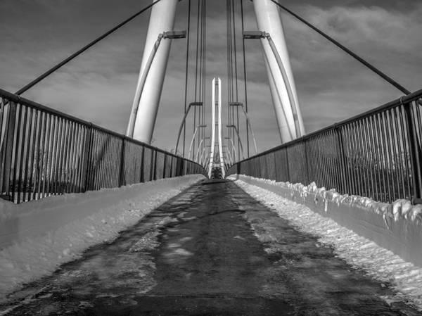 Photograph - Ipfw Bridge by Michael Colgate