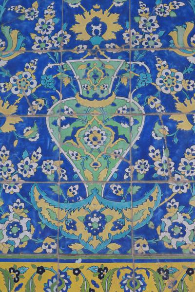 Central Asia Photograph - Iran, Esfahan, Naqsh-e Jahan Imam by Walter Bibikow