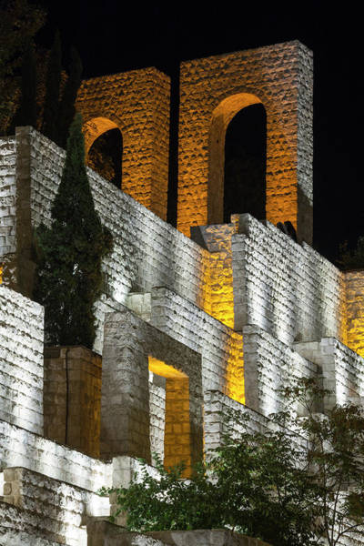Central Asia Photograph - Iran, Shiraz, Quran Gateway Walls by Walter Bibikow