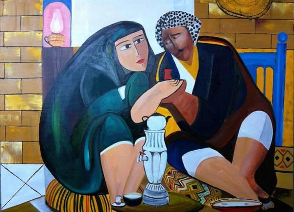 Baghdad Painting - Iraqi Tea by Rami Besancon