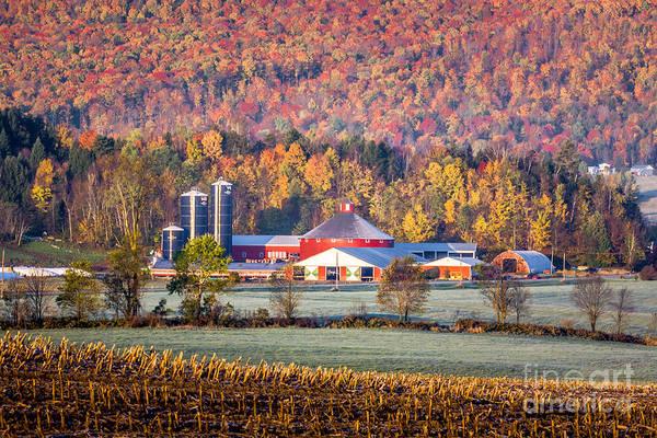 Photograph - Irasburg Round Barn by Susan Cole Kelly
