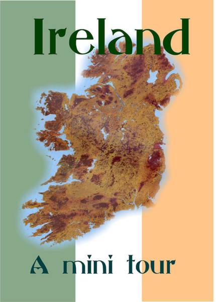 Digital Art - Ireland  A Mini Tour Follows by Val Byrne